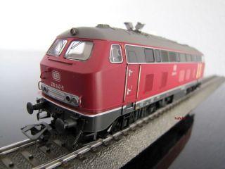 Märklin H0 37767 DB Diesellok BR 218, digital / mfx + Sound, neu in
