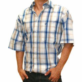 Southpole Herren T Shirt Karo kurzarm Hemd Shirt  72%