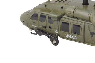Modellbau Hubschrauber 3D RC Gyro Turbo US Army Black Hawk Jamara