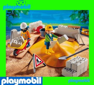 PLAYMOBIL 4138 Super Set Haus Bau Baustelle construction building site