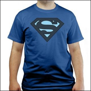 Big Bang Theory   Superman  T Shirt   blau   Sheldon Cooper