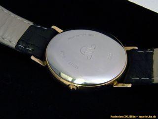MAURICE LACROIX Herren und Damen ARMBANDUHR Classic UHR gold farben
