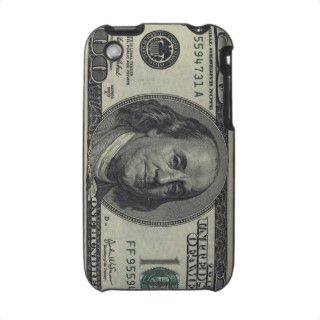 100 Dollar Bill iPhone 3 Cover