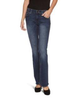 Wrangler Damen Jeans Normaler Bund, W23FX134D Bekleidung