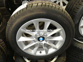 BMW 1er F20 205 55 16 Zoll Alufelgen Winterreifen Winterraeder Conti
