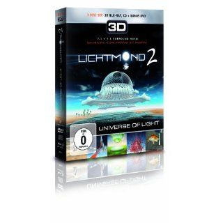 Lichtmond 2   Universe Of Light 3D Blu ray Set Se+DVD+CD Blu ray