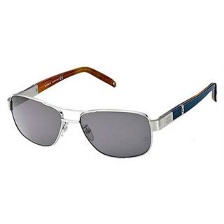 Montblanc MB225S J72 Mens Sunglasses Silver/Blue/Brown