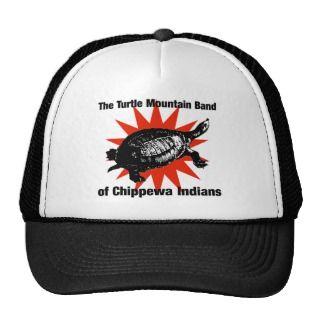 Turtle Mountain Band of Chippewa Indians Mesh Hats