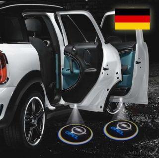 Stk. Opel Laser Tuning LED Logo Projektor Türlicht Scheinwerfer