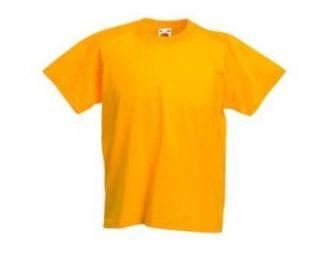 Kinder T Shirt   gelb   Gr. 152 Bekleidung