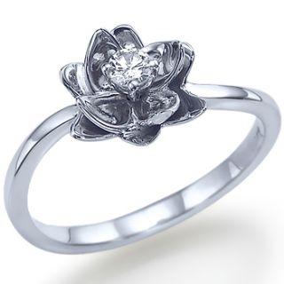 10ct Round Brillant Diamant Ring Solitaer Weissgold Verlobungsringe
