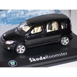 SKODA ROOMSTER 2007 SCHWARZ BLACK MAGIC 143AB007D 1/43 ABREX