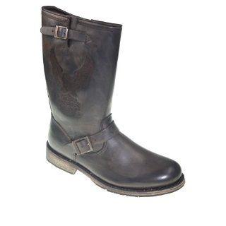 HARLEY DAVIDSON   Biker Boots   CLINT D95183   brown