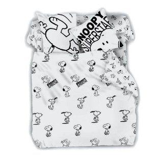 Snoopy Peanuts Bettwäsche Snoopy Groesse 155 x 220/80 x 80 cm Farbe