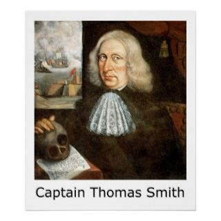 Captain Thomas Smith Self Portrait Print