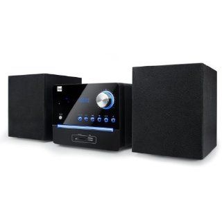 Dual ML 45 Kompaktanlage (CD Player, UKW Tuner, 10 Watt, USB) schwarz