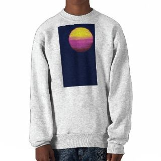 Beautiful Sunset Chesapeake Bay, Virginia Pull Over Sweatshirts