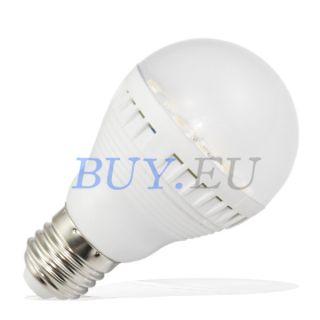 6W E27 White SMD 5050 LED Light Bulb Lamp 220 240V