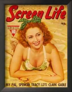 Joan Blondell   Hollywood Screen Life Magazine Cover 1930s Prints
