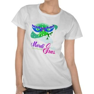 Shirt Mardi Gras Ladies,Girls, put on mens shirt