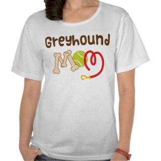 Greyhound Mom (Dog Breed) Gift T shirt
