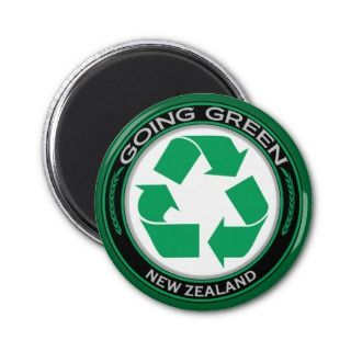 Recycle New Zealand Fridge Magnets