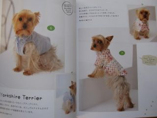 Thank You Very Much ) Please see the other dog clothing books in my