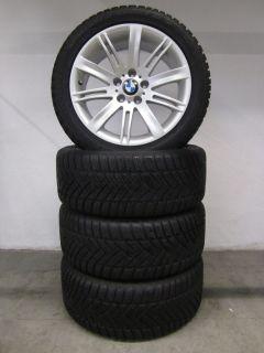 Original BMW 6er E63 E64 18 Zoll Alufelgen Winterreifen 7mm Dunlop TOP