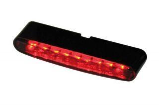 LED Mini Blinker STRIPE dark E gepr. ATV,HARLEY,CUSTOM,FIGHTER