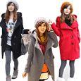 Fashion Women Faux Fur Rabbit Hair Coat Jacket Fluffy Short Outwear