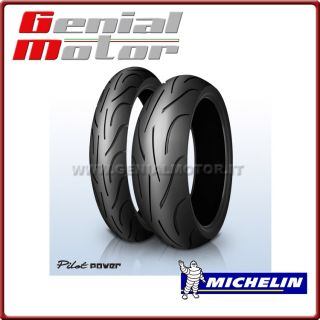 MICHELIN PILOT POWER 120/60ZR17 55W + 160/60ZR17 69W GOMME MOTO