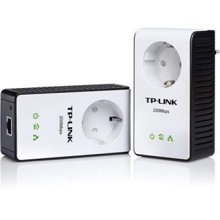 TP Link TL PA251 Kit 200Mbit Powerline Adapter Schuko