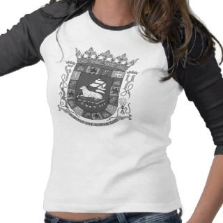 Puerto Rico Crest T shirts and Gifts