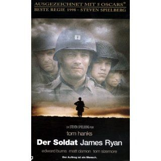 Der Soldat James Ryan [VHS] Tom Hanks, Edward Burns, Tom Sizemore