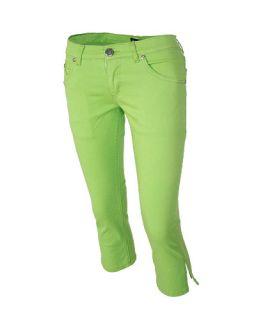 Skele Hand Print Skinny Jeans Capri Pants Punk Rock Rockabilly