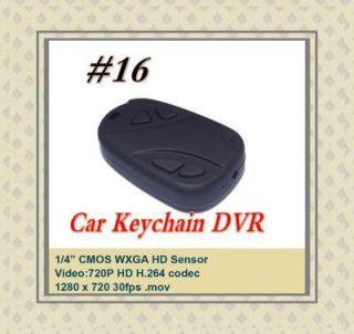 Car Schlüsselanhänger Micro Kamera HD720P H.264 808 pc webcam