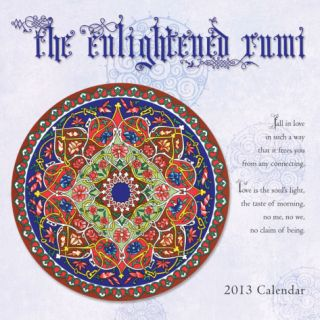 Enlightened Rumi   2013 Mini Calendar Calendars