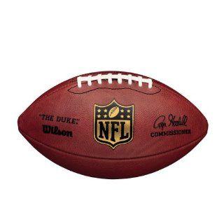 Wilson Football NFL Game Ball The Duke, rot Sport
