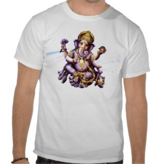 Ganesh Ganesha Ganapati Hindu Elephant Deity Tshirt