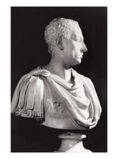 Portrait Bust of Francis I (1708 65), Holy Roman Emperor (Marble) Giclee Print by Antonio Canova