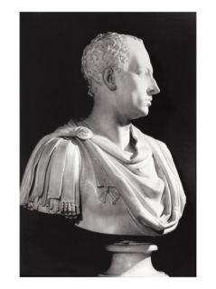 Portrait Bust of Francis I (1708 65), Holy Roman Emperor (Marble) Giclee Print by Antonio Canova