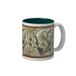 Daffodil Floral Art Coffee Mug