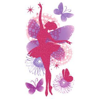 Wandtattoo Wandsticker Wandaufkleber Kinderzimmer Dekoration Ballerina