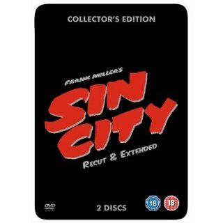 Sin City 2 DVD Recut & Extended Steelbook Collectors Edition