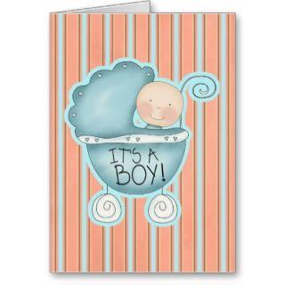 Its a Boy! Congratulations Card
