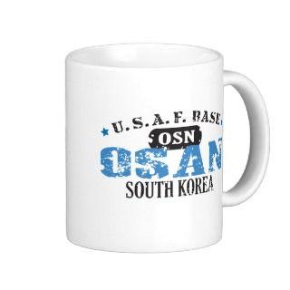 Air Force Base   Osan, South Korea Mug