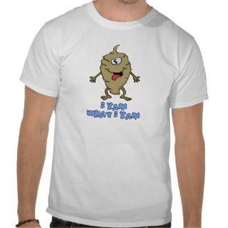 Funny Pun   I Yam What I Yam T Shirt