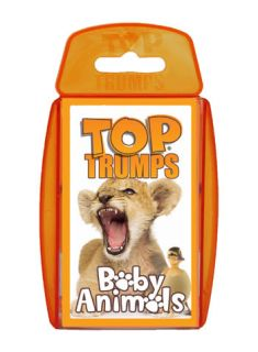 Winning Moves Shop   Top Trumps   Baby Animals