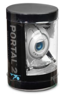 Valves Portal Wheatley LED Flashlight Torch Blue Light Key Ring Think