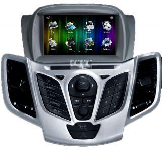 FORD FIESTA Touchscreen Autoradio Navigation GPS DVD SD DVBT Bluetooth